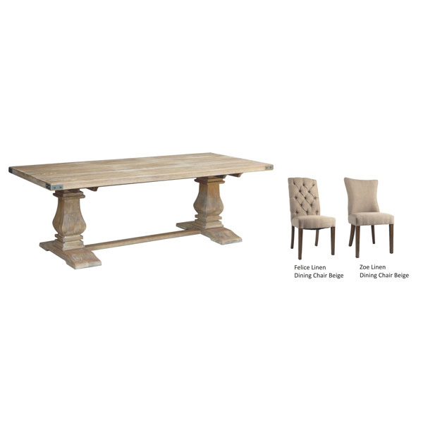 UTAH DINING TABLE